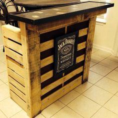 Handmade Jack Daniels Bar!