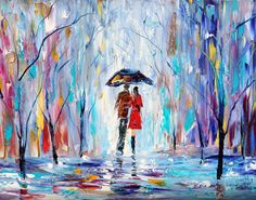'Rainy Love' / 11 x 14 print, $24.00