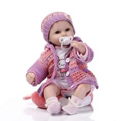 bebe gift doll reborn Silicone Reborn babies With Cotton Body Dressed in Nice Sweater Lifelike newborn babies girls toys. Product ID: Reborn Baby Girl, Reborn Toddler, Reborn Babypuppen, Girl Toddler, Baby Doll Toys, Newborn Baby Dolls, Baby Girl Dolls, Boy Doll, Child Doll