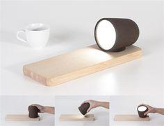 Lampen und Schalen aus Kaffeesatz