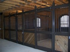 Stall Front- I want these for my dream barn!