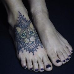 For more awesome cat tattoo designs click on the picture.