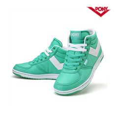 PONY Womens Act Poly High Top Running Shoes Sneakers FPKTE1W23G3 #PONY #RunningCrossTraining