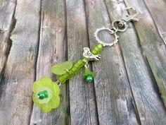 Taschenanhänger - Anhänger 'Lust auf Natur' für Schlüssel od. Tasche - ein Designerstück von TiefseeKirsche bei DaWanda