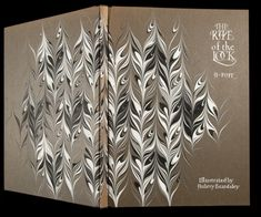Marbling on binding by Norma Rubovits. On A. Pope, The Rape of the Lock. Illustrated by Aubrey Beardsley. Rubovits 21, Newberry Library