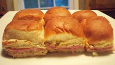 Old Dominion Ham Biscuits have maintained an extraordinary importance on the Southern table simply because they taste great and they're easy to make. Yummy Appetizers, Appetizer Recipes, Good Food, Yummy Food, Yummy Recipes, Ham Biscuits, Reception Food, Finger Foods, Breakfast Recipes