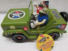 M M's World Military Jeep Candy Dispenser New   eBay