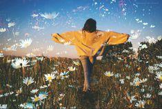 Quiero primavera #conservatuscolores #dobleexposicion #doubleexposure #creative #spring #flowers #naturaleza #girl #tumblr