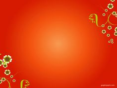Beautiful Red PowerPoint Background | PowerPoint Background & Templates