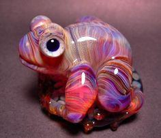 5Fish - Flameworked Borosilicate Glass Frogs