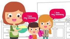 Mother's Day Song for Children | I Love My Mommy - YouTube