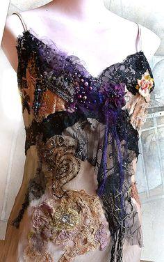 RESERVED For MARGIE Art To Wear Silk Dress Very door Paulina722