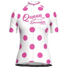 Women's Queen of the Downhill Short Sleeve Cycling Jersey – Online Cycling Gear – Free Shipping – Lowest Prices! Women's Cycling Jersey, Cycling Gear, Cycling Jerseys, Cycling Outfit, Female Cyclist, Bike Shirts, Body Shapes, Female Bodies, Elastic Waist