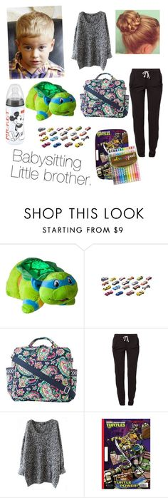 """""""Baby sitting ."""" by kenzzie22 ❤ liked on Polyvore featuring Pillow Pets, Mattel, Disney, Vera Bradley and Reebok"""