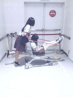 Mayumi and Seo Minji