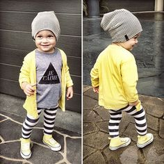 Beau Hudson beanie hat- We have the grey but want all colors! The cardigan with leggings is also super cute