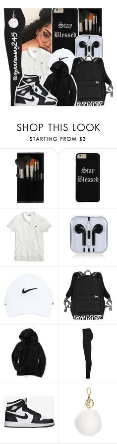 """""""School #17"""" by queenswag245 ❤ liked on Polyvore featuring Topshop, J.Crew, NIKE, Miss Selfridge, Retrò and MICHAEL Michael Kors"""