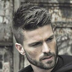 awesome nice High Fade with Quiff and Beard. Popular Hairstyles, Hairstyles Haircuts, Haircuts For Men, Pixie Haircuts, High Fade, Gorgeous Hair, Hair Type, Your Hair, Short Hair Styles