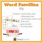This mini word family unit for 'ay' gives you a taster for the activities contained in my other word family units.    See also   Word Families - games...