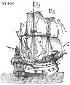 Spanish galleon sailing the seas Spanish Galleon, Bateau Pirate, Boat Drawing, Pirate Ship Drawing, Old Sailing Ships, Tattoo Set, Tattoo Small, Ship Art, Tall Ships
