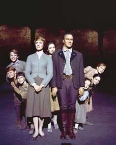 """The Sound of Music"" Julie Andrews, Christopher Plummer 1964 Twentieth Century Fox"