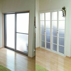 On Walls/オーダー/窓枠DIYのインテリア実例 - 2016-06-06 23:57:50 | RoomClip (ルームクリップ) Diy Interior, Interior Decorating, Organization Hacks, Windows And Doors, Home Projects, Diy And Crafts, Farmhouse, Curtains, Architecture