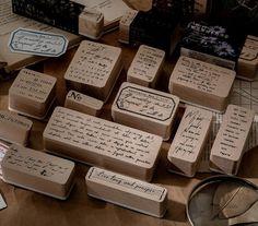 Book Crafts, Paper Crafts, Album Diy, Vintage Notebook, Planner Decorating, Emotion, Wood Stamp, Vintage Stamps, Have Time