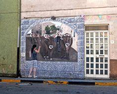 Murales of Sardinia by marilenavaccarini