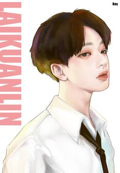 Peinados Pin Up, Boy Illustration, Guan Lin, Lai Guanlin, 3 In One, Anime Outfits, Graphic Design Art, Bts Wallpaper, Aesthetic Wallpapers