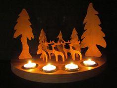 nordische Weihnachtslandschaft mit von Scandinavicwoodworks auf Etsy