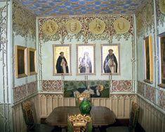 Zimmer in Schloss Lichtenstein auf der Schwäbischen Alb