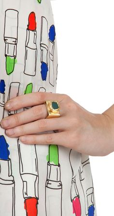 Royal city ring available only at Pernia's Pop-Up Shop.