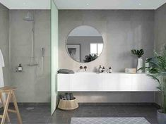 Grout Free Shower and Bathroom Wall Panels – 5 Reasons to Rethink Using Them – Innovate Building Solutions Cement Bathroom, Bathroom Wall Panels, Shower Wall Panels, Ikea Bathroom, Small Bathroom Storage, Downstairs Bathroom, Master Bathroom, Diy Shower, Shower Tub