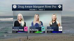 2016 Drug Aware Margaret River Pro (W): Round 1, Heat 1 Video