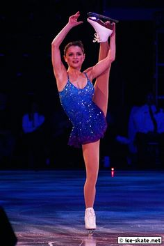 Sasha Cohen - Blue Figure Skating / Ice Skating dress inspiration for Sk8 Gr8 Designs.