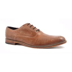 The formality of an oxford is toned down by a lovely artisan stitch to the outer sole. This tan oxford brogue is finished with a leather sole. Oxford Brogues, Oxford Shoes, Dress Shoes, Artisan, Lace Up, Pairs, Mens Fashion, Stitch, Grey