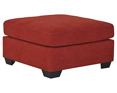 Maier Oversized Accent Ottoman decor example Ashley Furniture