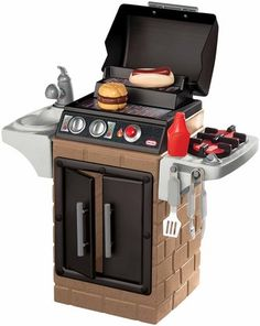 Little Tikes Get Out n Grill - love this for our boys when dad is grilling!