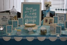 Favorite things 90th birthday party. Grandma Anderson's birthday party. Wish we could have been there!