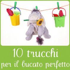 10 trucchi per il bucato perfetto