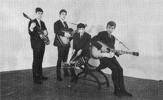 The Beatles, Peter Kaye Studio, Liverpool, 1962.