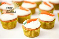 Im going to be giving the recipe for delicious carrot cupcakes....I will be posting the recipes soon