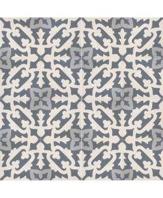 Bosque Encaustic Cement Tile by TERRAZZO-TILES. http://www.terrazzo-tiles.co.uk/bosque-encaustic-cement-tile.html