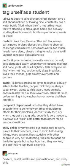 Complaint department and Netflix&Procrastinate Writing Help, Writing Tips, Writing Prompts, Back To School Highschool, Mbti, School Study Tips, Types Of People, Study Inspiration, Studyblr