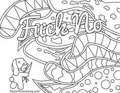 Amazon Swear Word Coloring Book An Adult Of 40