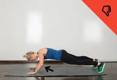 Push-Up Mistake #fitness #workout http://greatist.com/move/moves-anyone-can-do