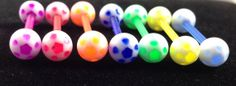 Flexible Soccer Ball Tongue Ring