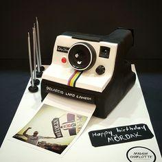 Polaroid cake