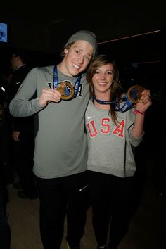 #TeamUSA Pic of the Day: @josschristensen & @Kaitlyn Marie Farrington