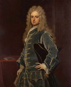 """1708, """"James Craggs the Younger"""" by Sir Godfrey Kneller"""